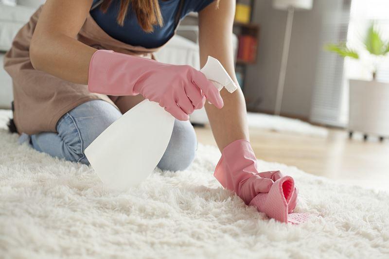 Czyszczenie dywanu sodą oczyszczoną krok po kroku 2