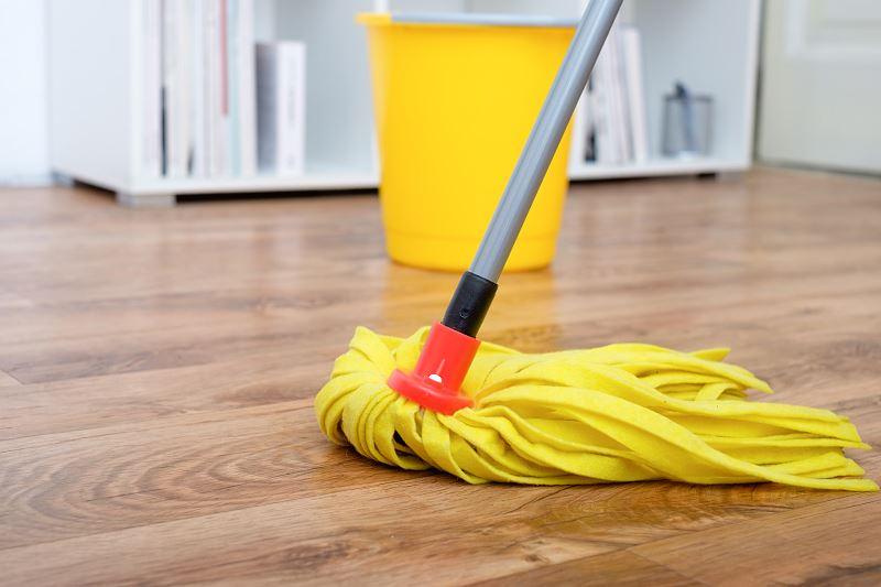 Mycie podłogi - jak myć panele podłogowe, parkiet lub płytki? Porady praktyczne 2