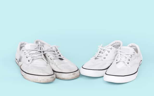 Jak wyczyścić białe trampki - domowe sposoby na umycie i wypranie butów