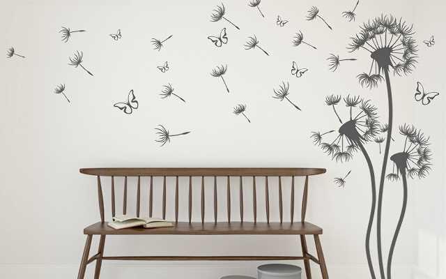 Naklejki dekoracyjne na ściany, meble, drzwi
