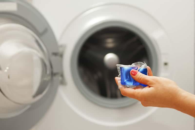 Kapsułka do prania w pralce