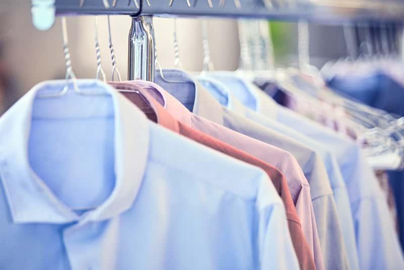 Wyprasowane koszule męskie