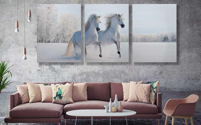 Przepis na efektowne wnętrze, czyli wieszamy obrazy z końmi