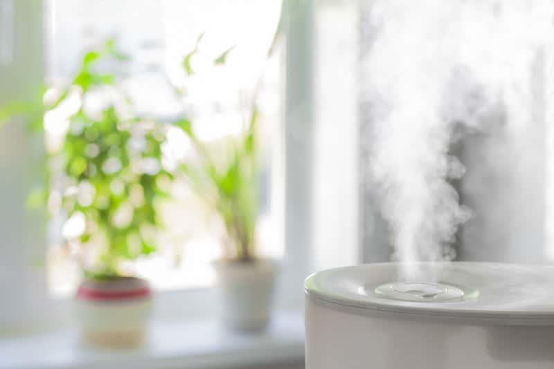 Parowy nawilżacz powietrza
