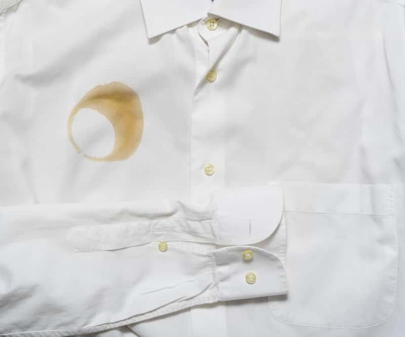 Usuwanie plam i zabrudzeń - Koszula