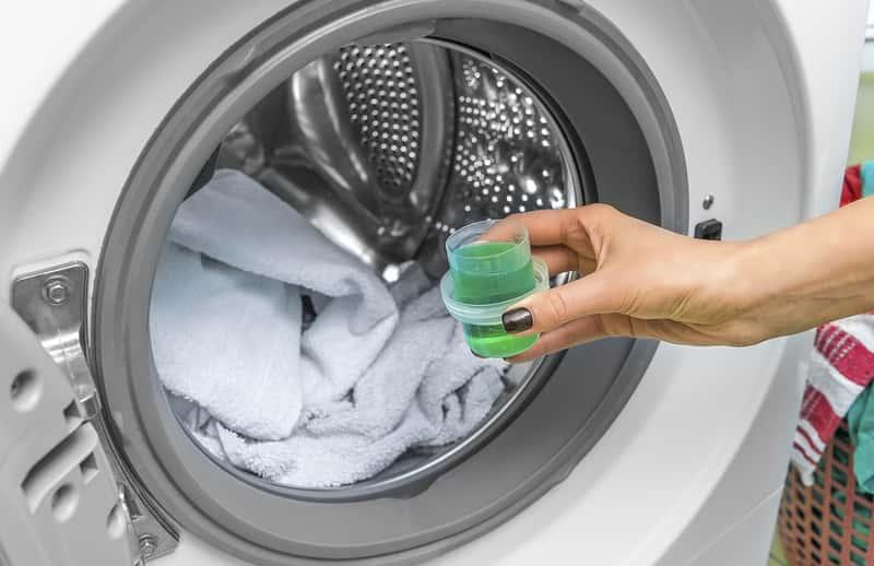 Płyn do prania w pralce