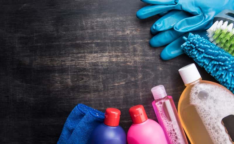 Popularne środki czystości