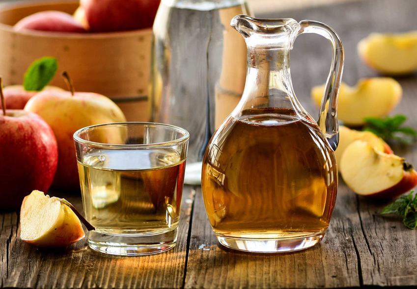 Ocet jabłkowy oraz porady, jak pić ocet jabłkowy i z czym pić ocet jabłkowy, w tym woda z octem jabłkowym