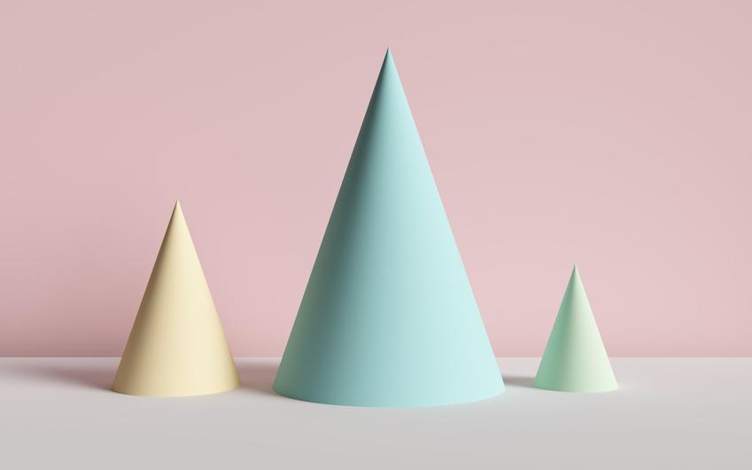 Kolorowe stożki z papieru oraz najlepsze porady jak zrobić stożek z papieru
