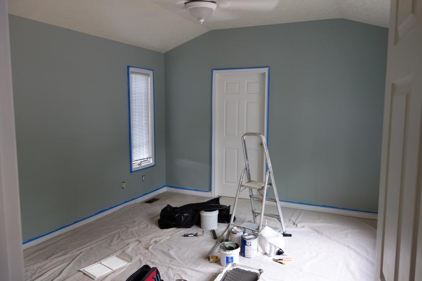 Remont i malowanie sypialni, a także polecane kolory do sypialni, które warto wybrać