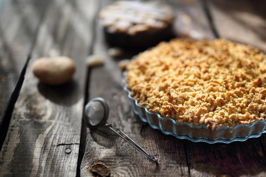 Kruszonka do ciasta na upieczonym cieście oraz jak zrobić kruszonkę