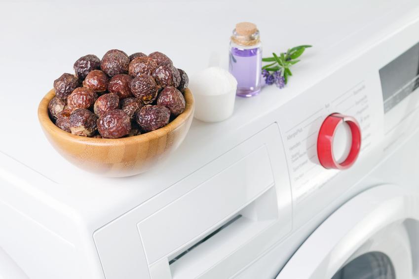 Orzechy do prania na pralce, a także pranie w orzechach piorących w domu