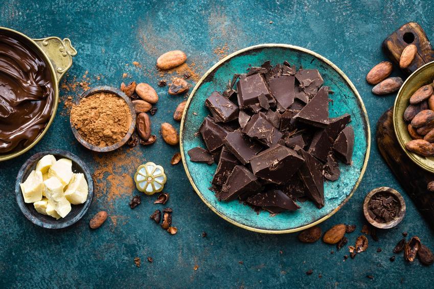 Składniki na blok czekoladowy, a także przepis, jak krok po kroku zrobić blok czekoladowy