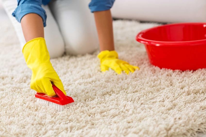 Ręczne pranie dywanu za pomocą gotowych środków to świetny sposób na odświeżenie dywanu i przywrócenie jego koloru do właściwego