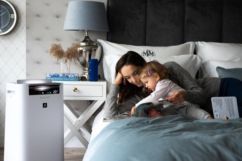 Czy wiesz jakie zdrowotne zalety wiążą się z posiadaniem oczyszczacza powietrza Sharp Ultimate Air?