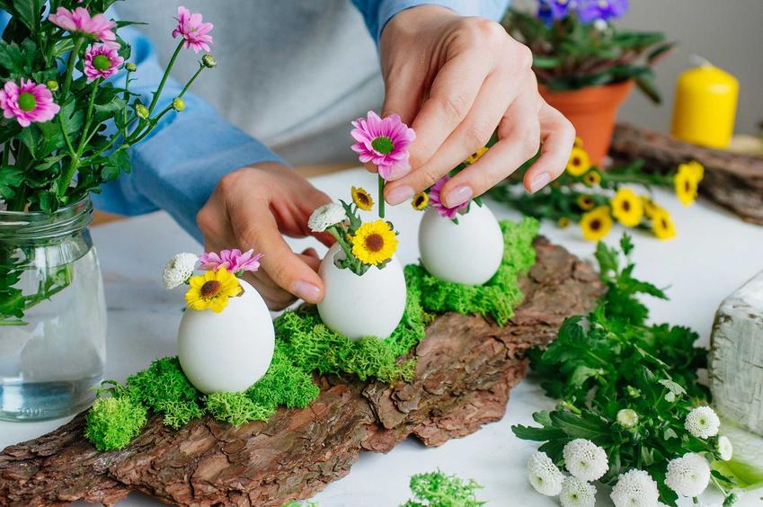 Ozdoby ze skorupek po jajkach na wielkanoc, a także jak zrobić ozdoby wielkanocne samodzielnie krok po kroku