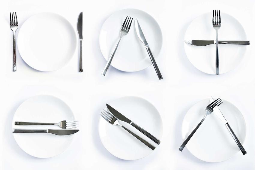 Schematy, jak odkładać sztućce po posiłku, czyli najważniejsze zasady savoir-vivre, jak odkładać sztućce
