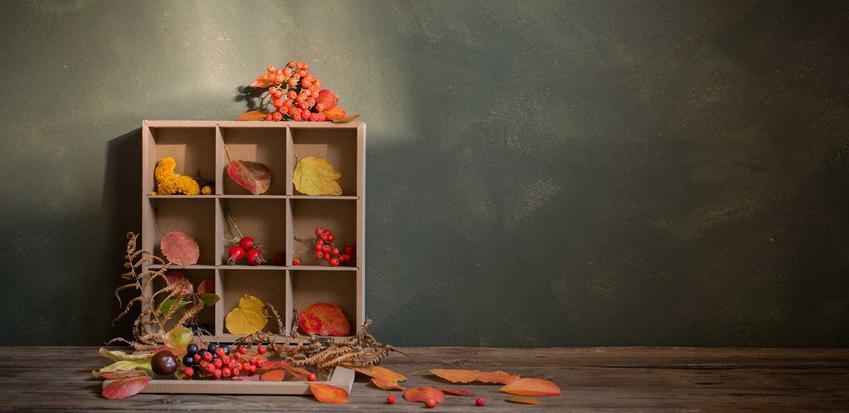 Jesienna galeria, czyli ciekawe ozdoby w pudełku, a także stroiki jesienne i piękne kompozycje na jesień