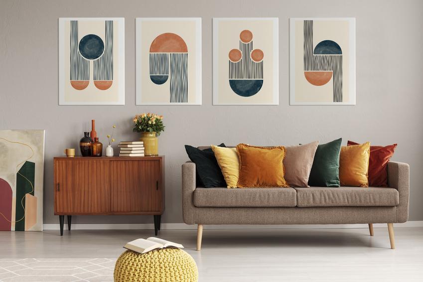 Fototapety i obrazy jako dekoracje przestrzeni