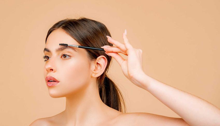 Zbyt mocno wyrysowane brwi, a także inne błędy w makijażu, które najczęściej popełniają Polki