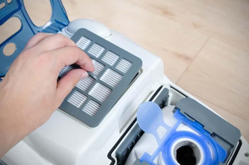 Odkurzacz z filtrem HEPA w czasie wymiany worka, a także rodzaje, filtry HEPA, ceny, polecani producenci