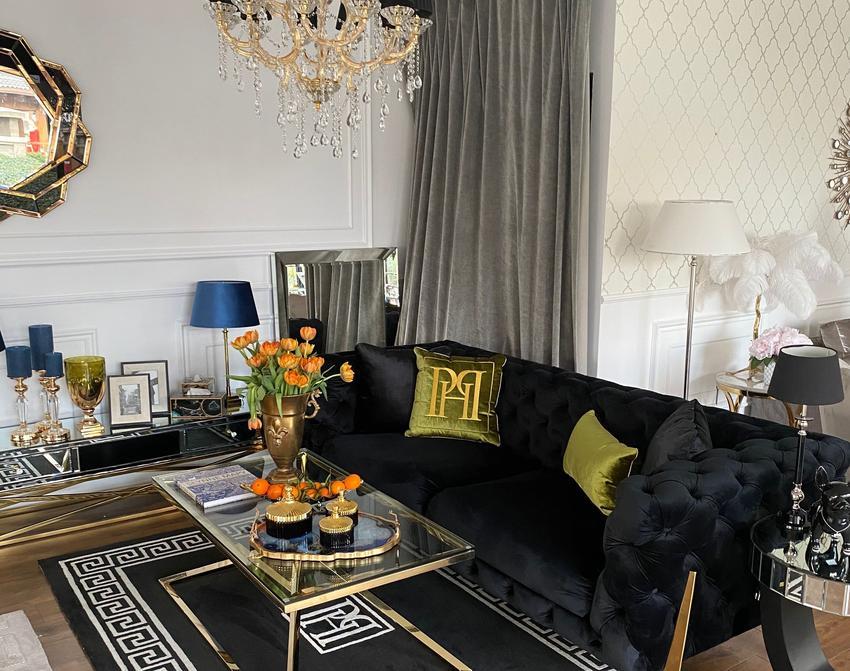 Jak zaaranżować salon w stylu glamour?