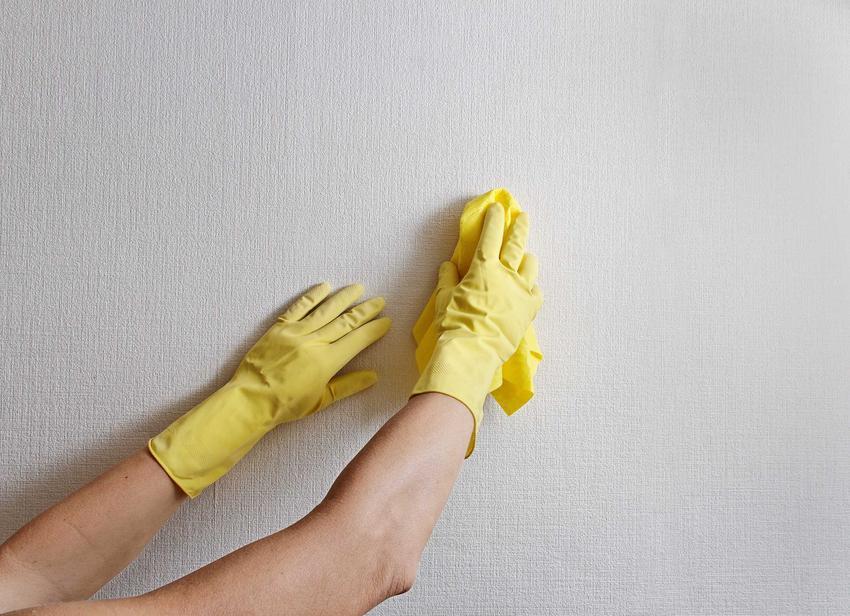 Mydło malarskie to świetny sposób na usunięcie zabrudzeń ze ścian, także grzybów, pleśni czy bakterii. Używa się go przed rozpoczęciem malowania.
