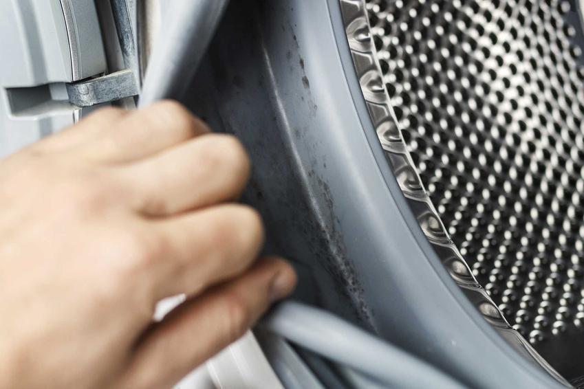 Zapach pleśni z pralki jest bardzo uciążliwy i może okazać się, że pleśń odkłada się pod uszczelkami, dlatego jej zapach jest wyczuwalny.